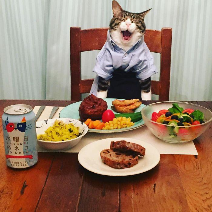 Картинка за ужином съедай все в тарелке прикольная